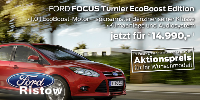 Ford Focus Turnier EcoBoost Edition