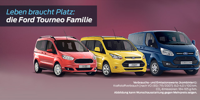 Ford Tourneo Familie